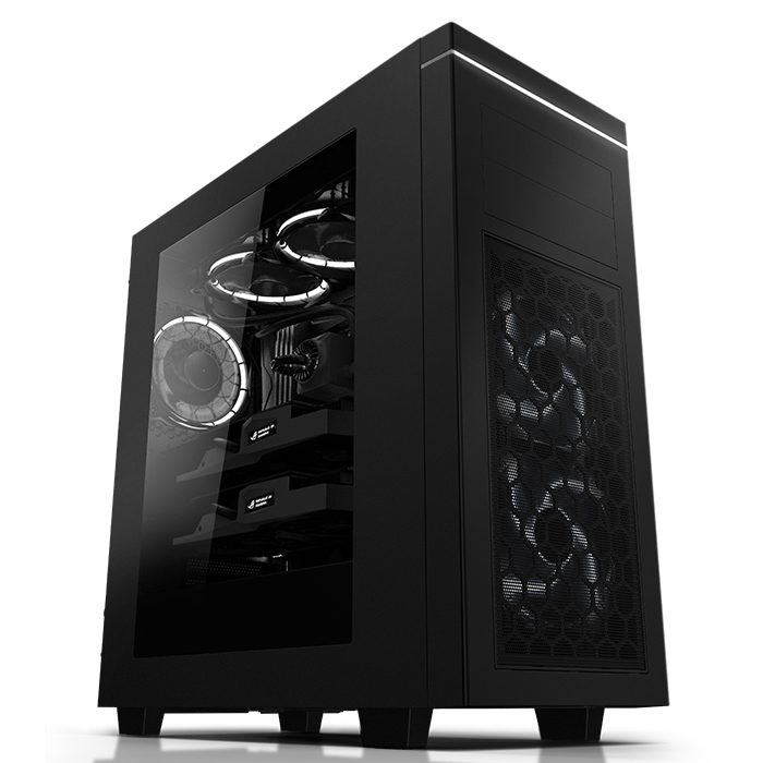 트레저 X6 630S 파노라마 윈도우 블랙