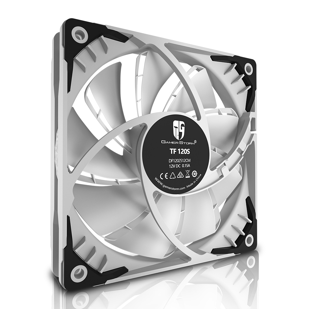 DEEPCOOL GAMER STORM TF120S WHITE
