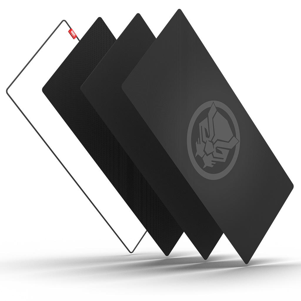 BRAVOTEC 마블 블랙팬서 데스크 장패드